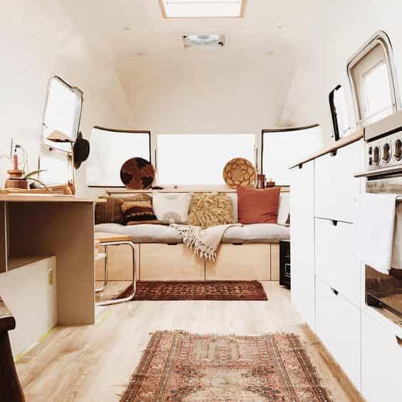 caravan interior design project