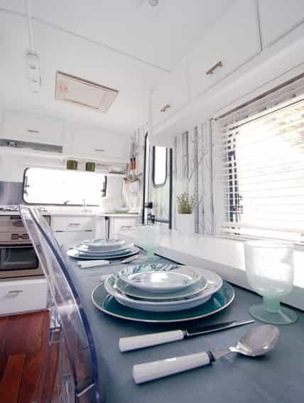 elegant modern look caravan