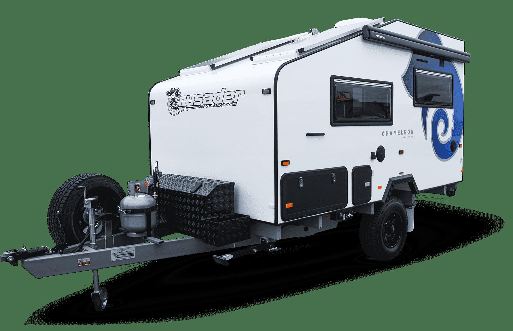 Image the Chameleon Liberty new caravan for sale.