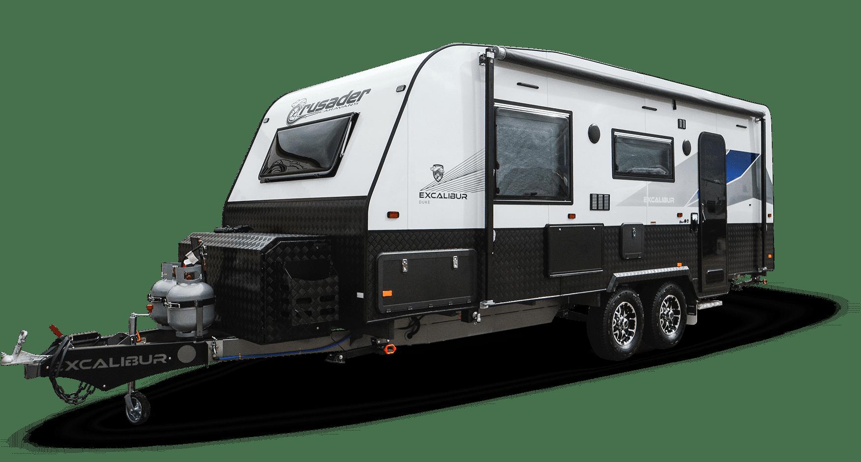 Crusader Caravans Excalibur Duke for sale at Lewis RV.