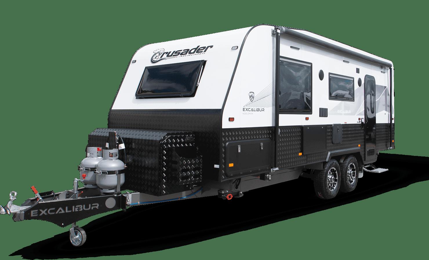New Crusader Caravan Excalibur Nobleman for sale,