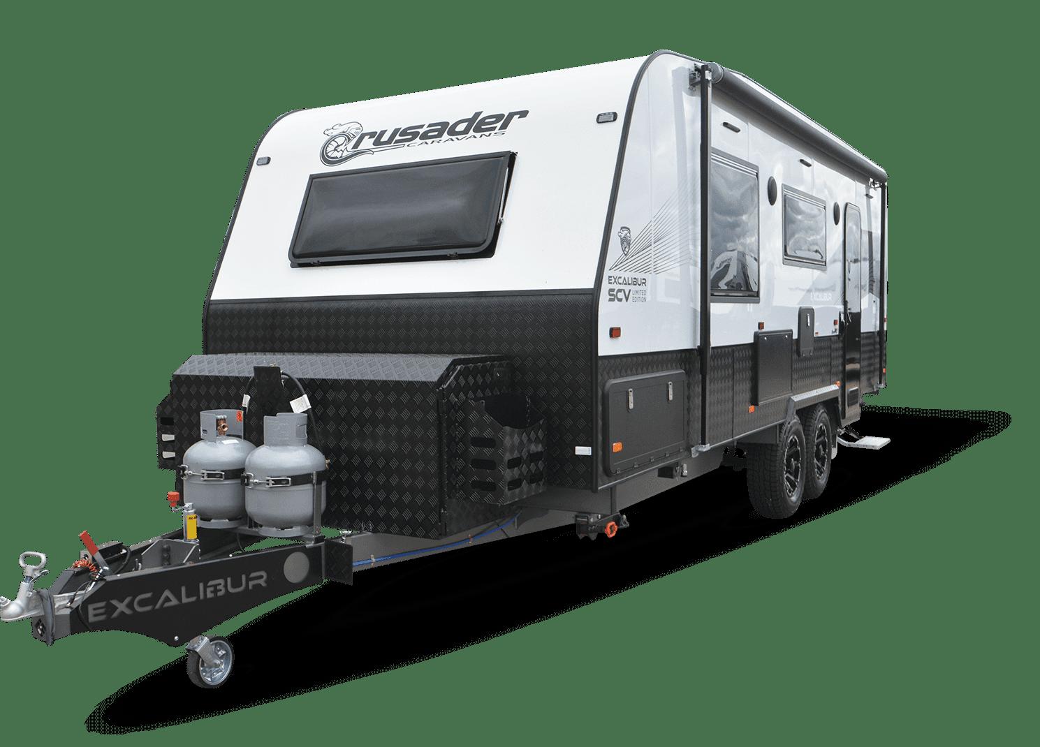 Image of Crusader Caravans Excalibur SCV.