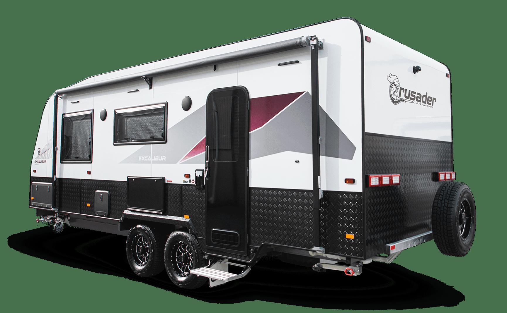 New Excalibur Serenity caravan for sale at Lewis RV.
