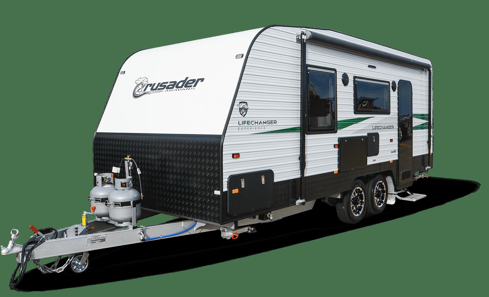 Image of new Crusader caravan named Lifechanger Experience.