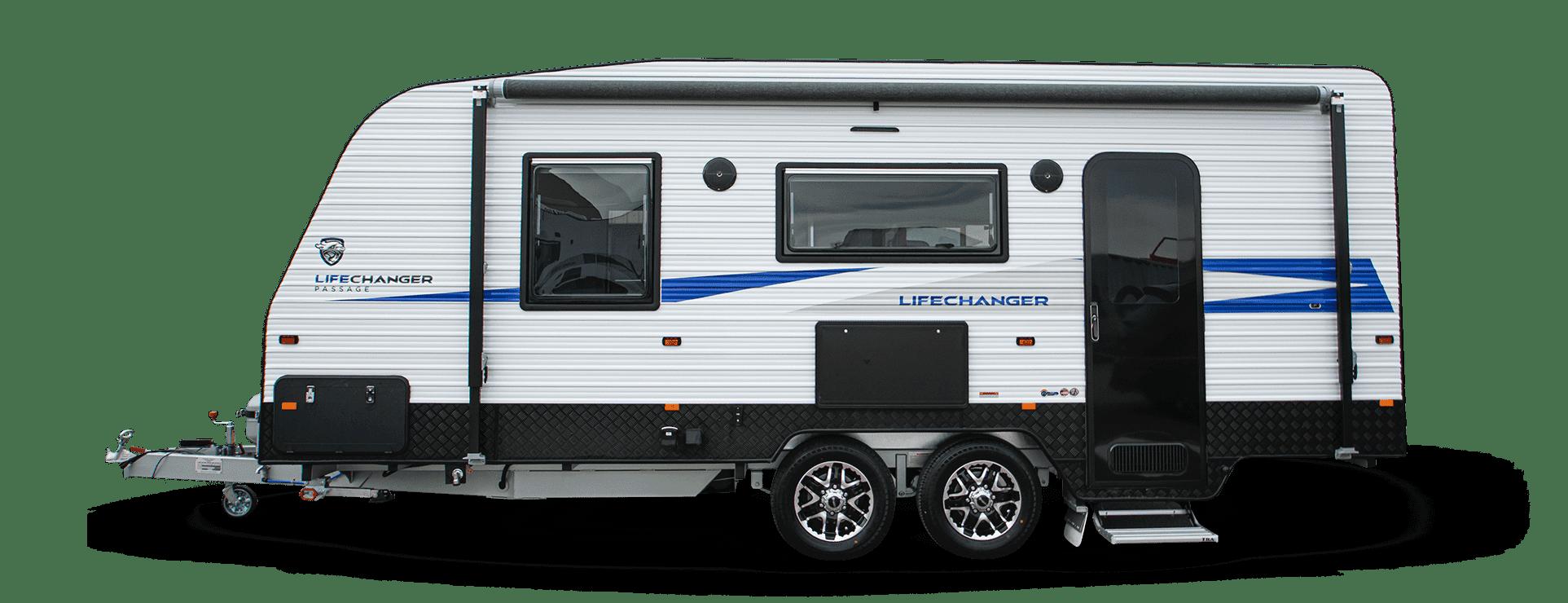 Crusader Lifechanger Passage caravan for sale.