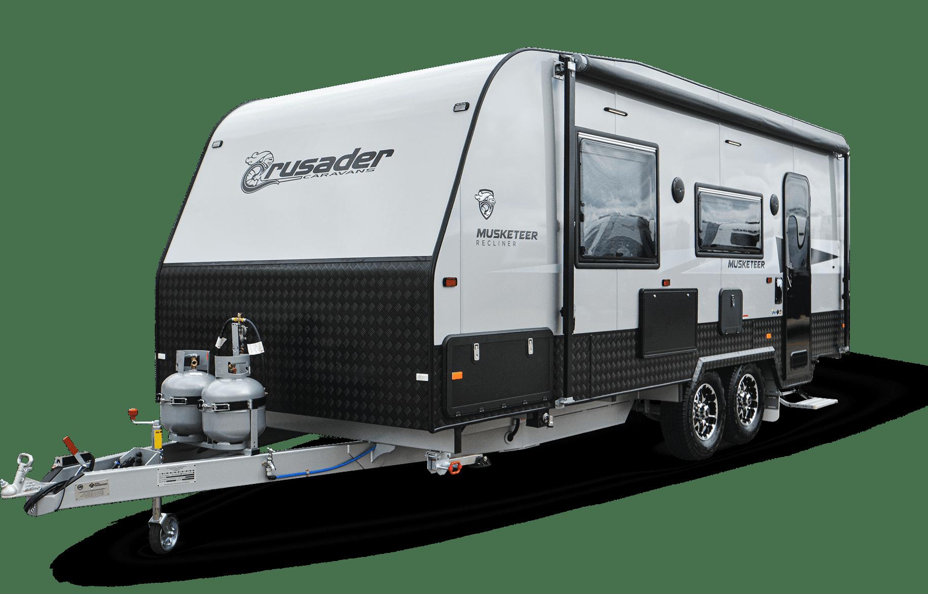New Crusader Musketeer caravan for sale at Lewis RV.