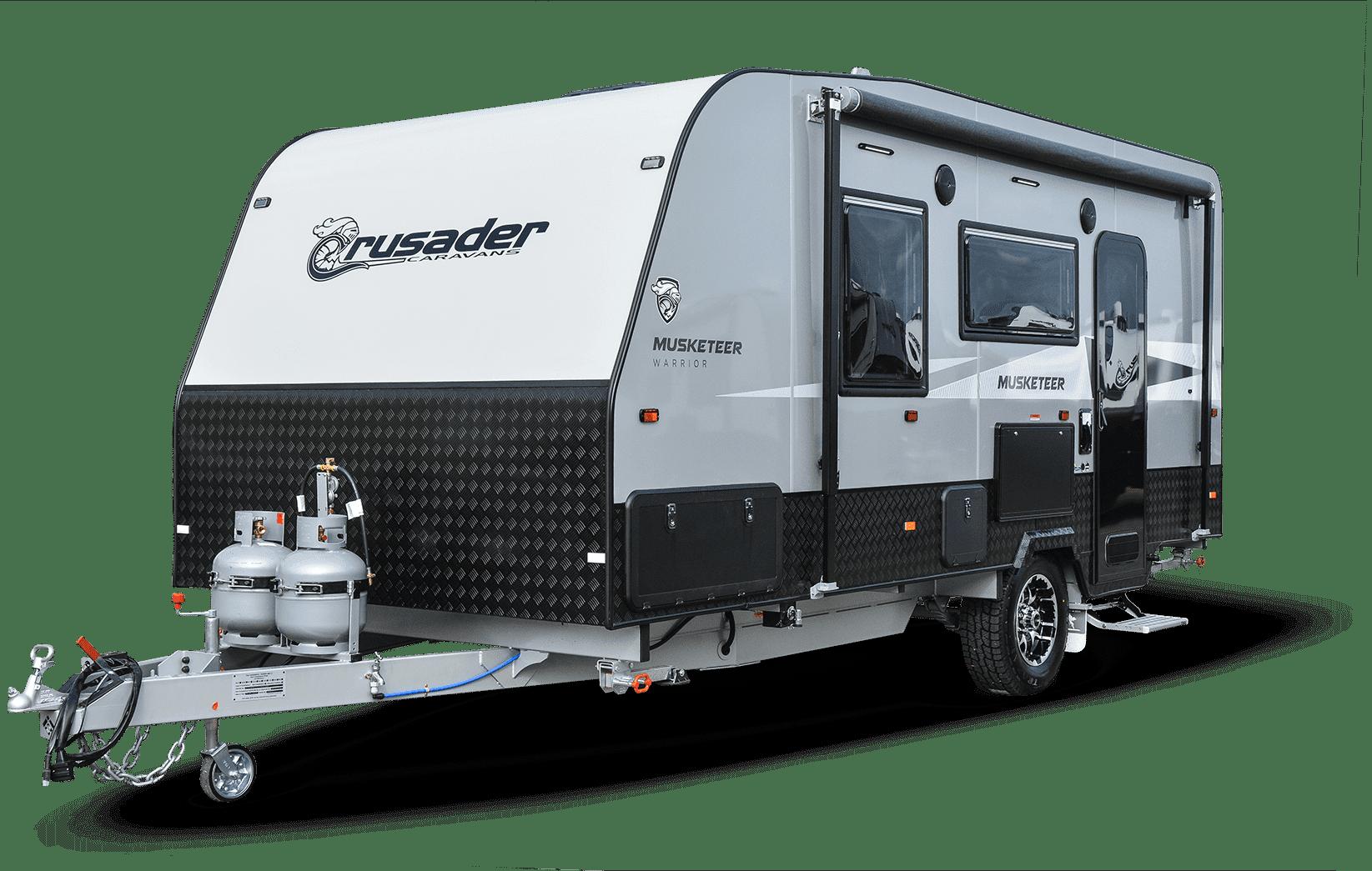 Crusader Musketeer new caravan for sale at Lewis RV.