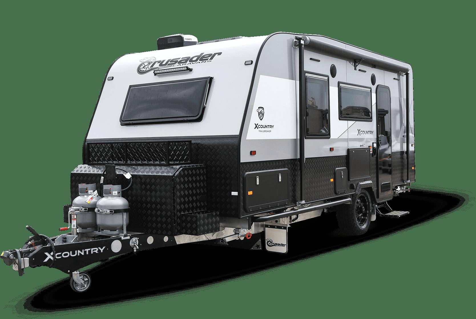Image of new caravan for sale Crusader XC Trailbreaker.